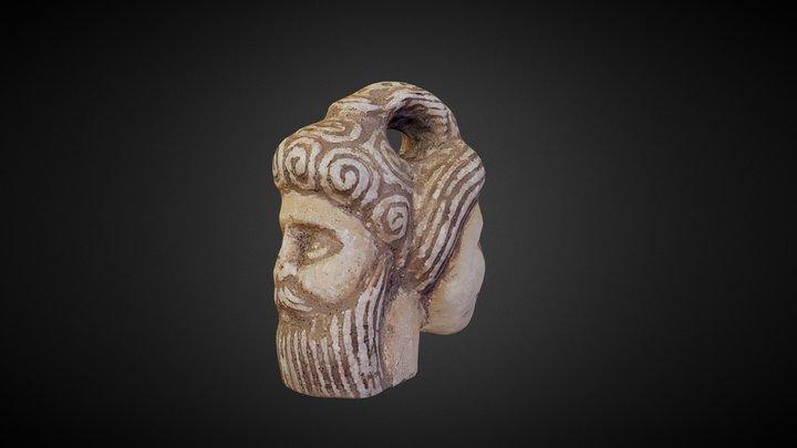 double head amulet 3D Model