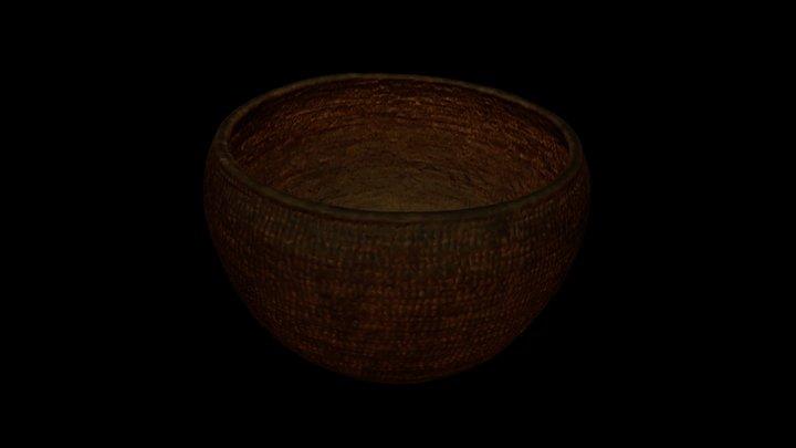 Proutěný košík / Basket 3D Model