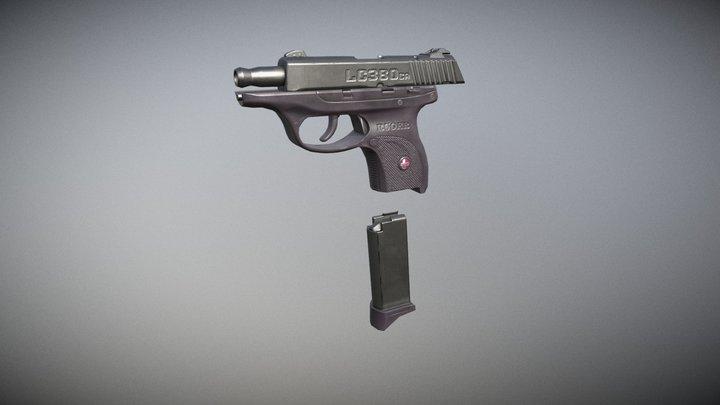 Ruger Pistol 3D Model
