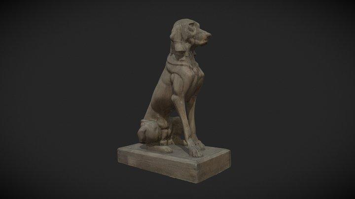 3D Scan Dog 3D Model