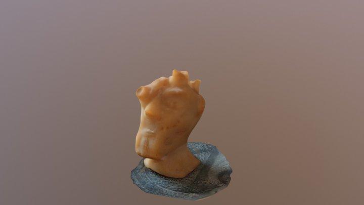 Tête fimo, 5cm 3D Model