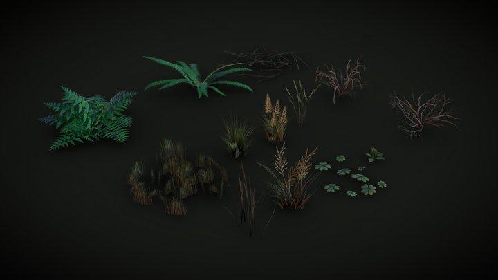 Some Foliage 3D Model