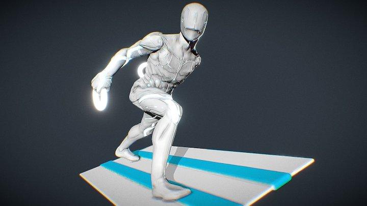 Tron WIP 3D Model