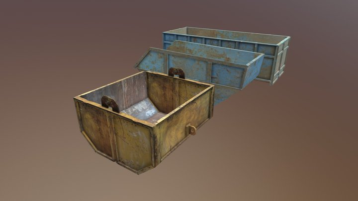 Containers 3D Model