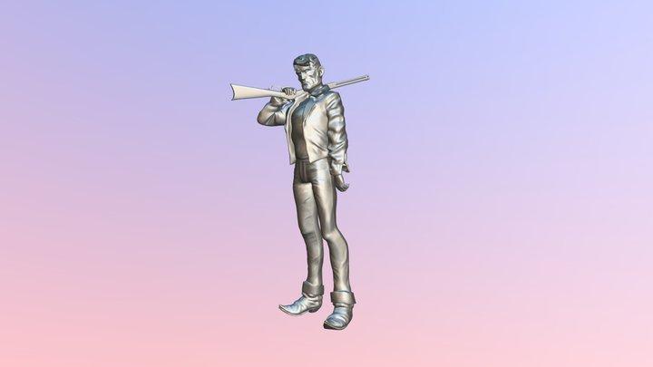 Billy-joe5-posed1 3D Model