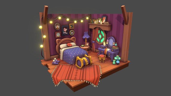Magic room 3D Model
