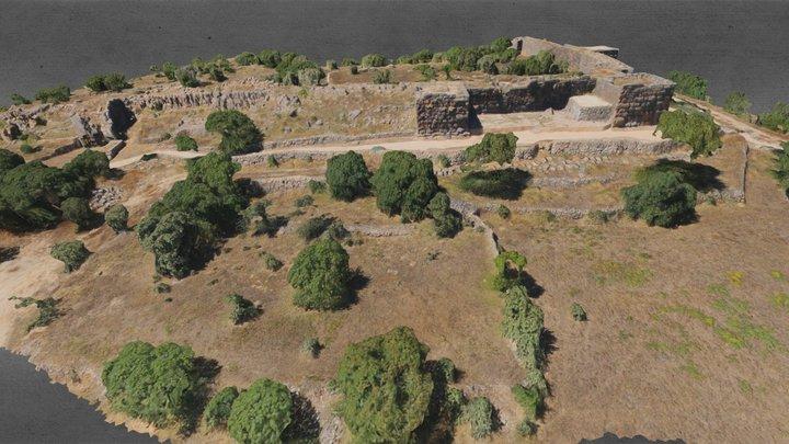 Castle On The Island Nisyros 3D Model