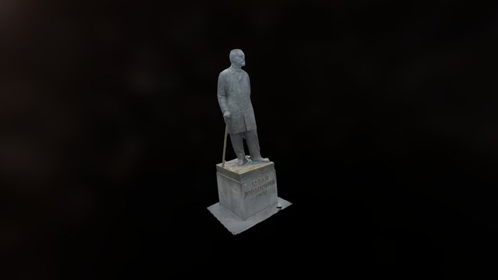 Jovan Jovanovic Zmaj 3D Model