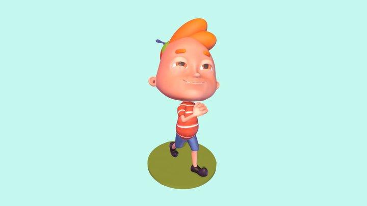 Thesis Character Joe 3D Model