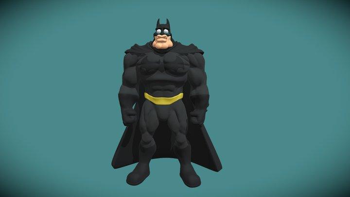 Sad Batmetal Sculpt 3D Model