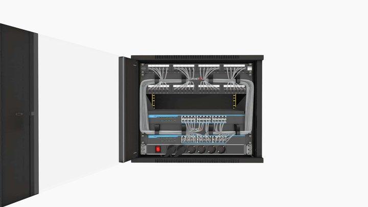 OPENETICS - UniRack 9U 3D Model