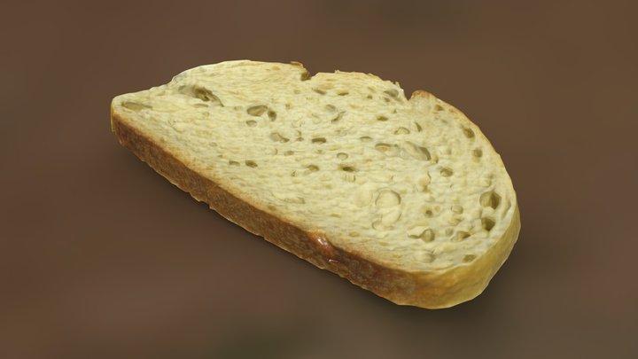 Sliced Bread 3D Model