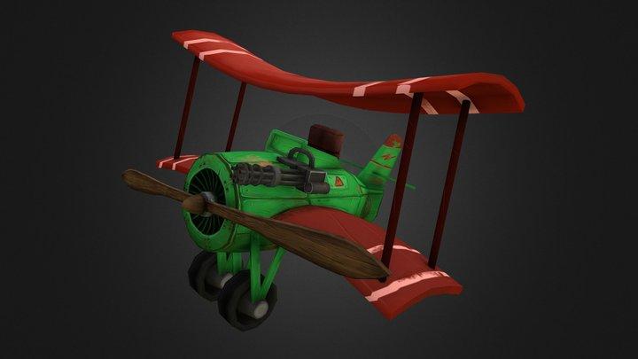 Vermeersch_Keltic_Stylized_Plane 3D Model