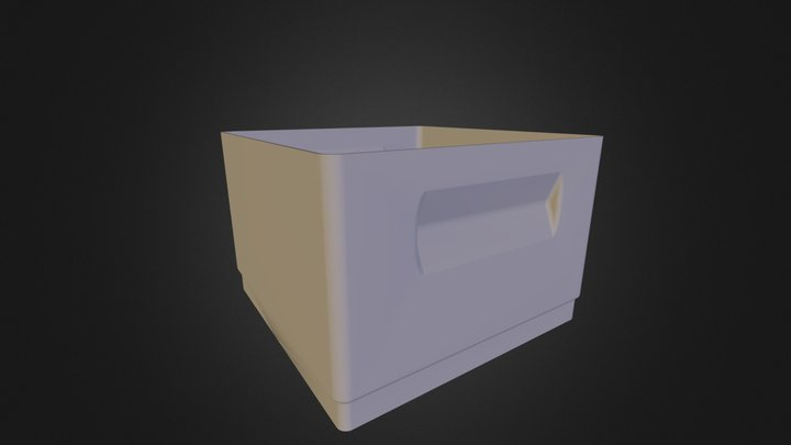 Stacking Box 3D Model