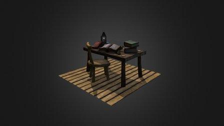 Arcanist's Study 3D Model