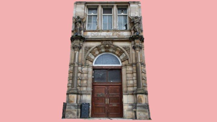 Dundee, former Post Office door (from 4 photos) 3D Model