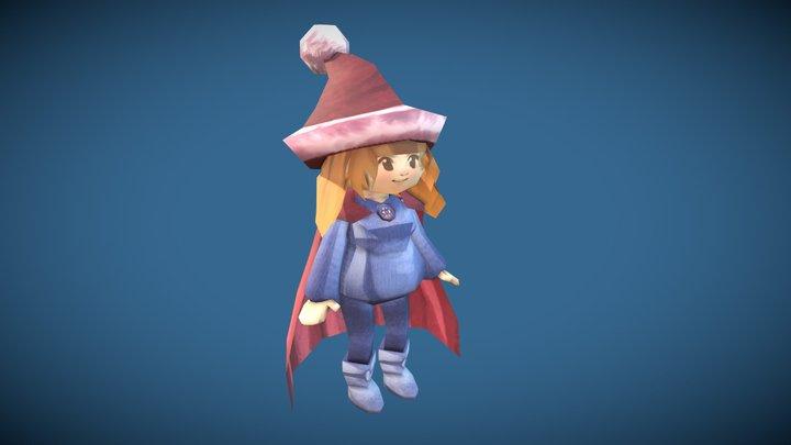 Dreamscape - Elisa character 3D Model
