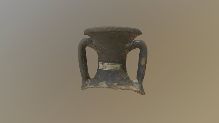 Amphora Handle from Selsey (Acc. 1204) 3D Model