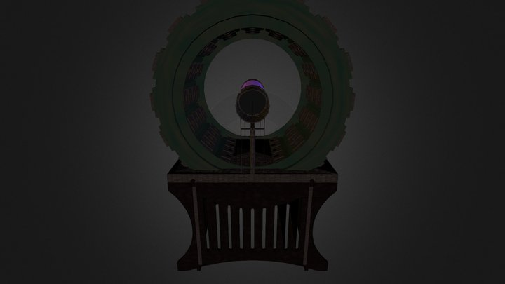 Stargate:Universe - Rotating Garden - Empty 3D Model