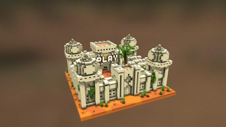 Desert Lobby 3D Model