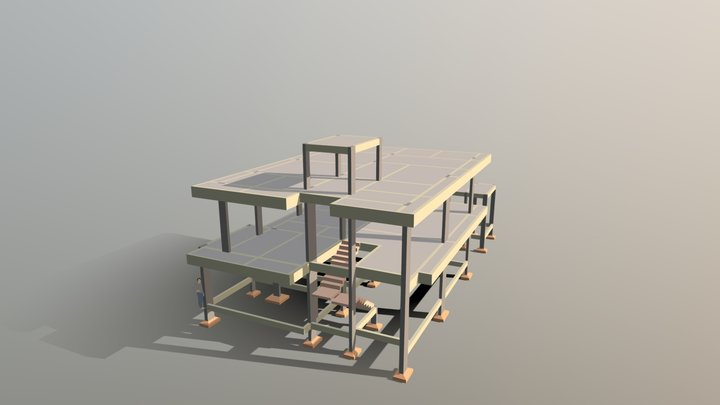 RESIDENCIA F | A 3D Model