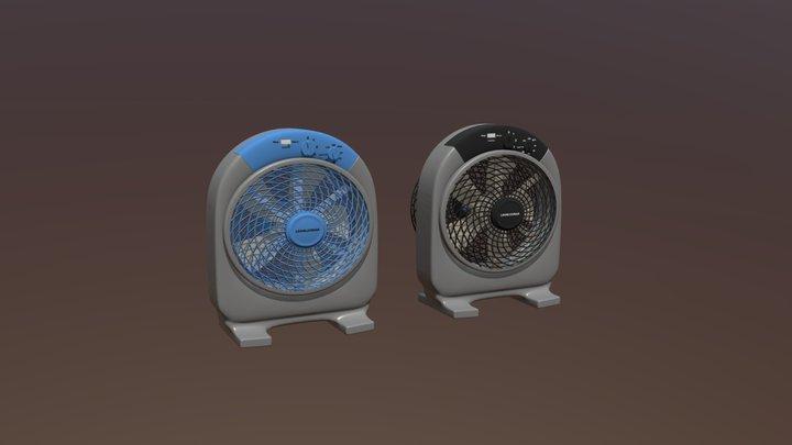 VENTILATOR/ VENTILADOR DE MESA 3D Model