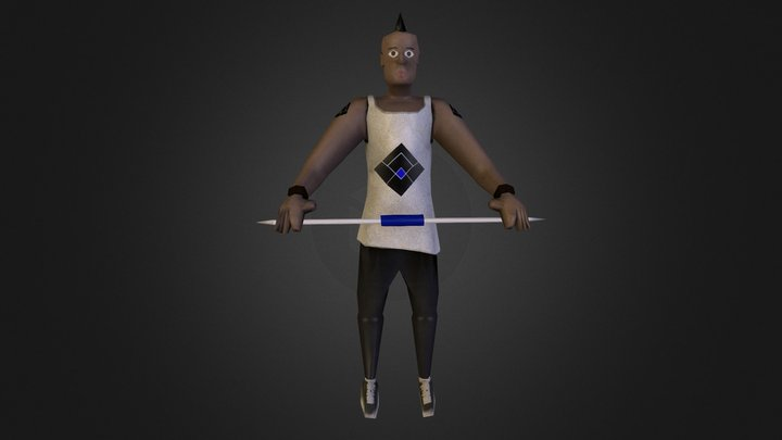 Ath Leet 3D Model