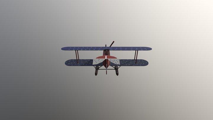 Plane Gameart 1 2019 3D Model