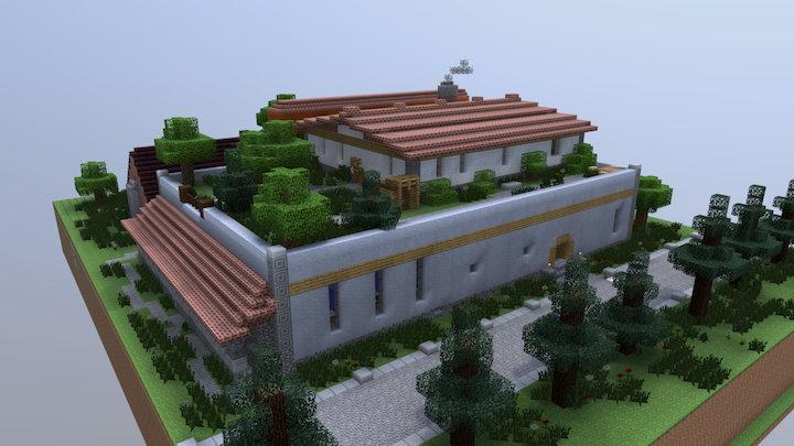 Skywhite's House of Lavation 3D Model