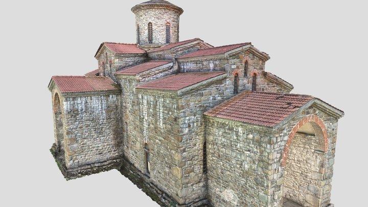 Christian church of the 10th century 3D Model