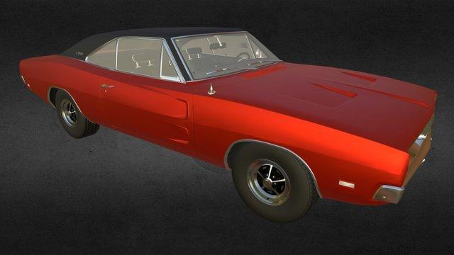 Dodge Charger R/T 3D Model
