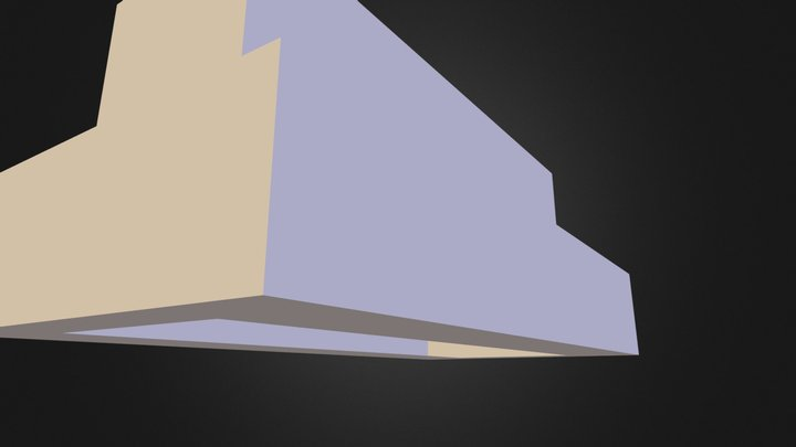Pump Foundation 3D Model
