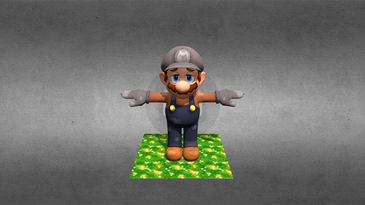 Poor Mario 3D Model