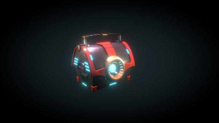 Tech Chest 3D Model