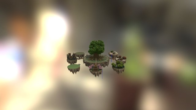 Spawn serveur OlyCraft [By FuryAngel !] 3D Model