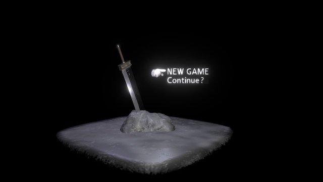 Buster Sword Final Fantasy 7 3D Model