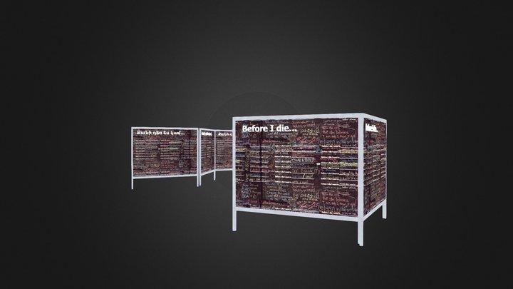 Before I Die Yerevan Wall 3D Model