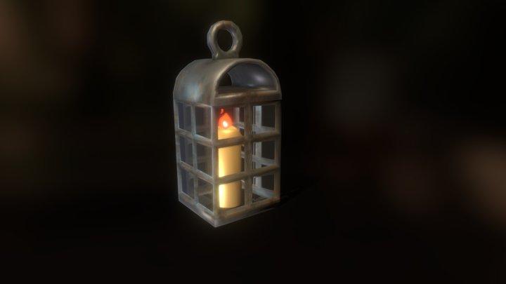 Pirate Lantern 3D Model