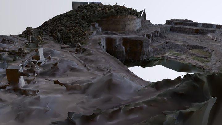 DJI Phantom 4 Reality Capture - Nashville Quarry 3D Model