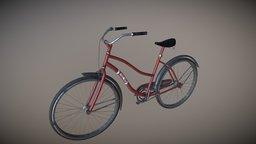 Dirt bicycle 3D Model 3D Model