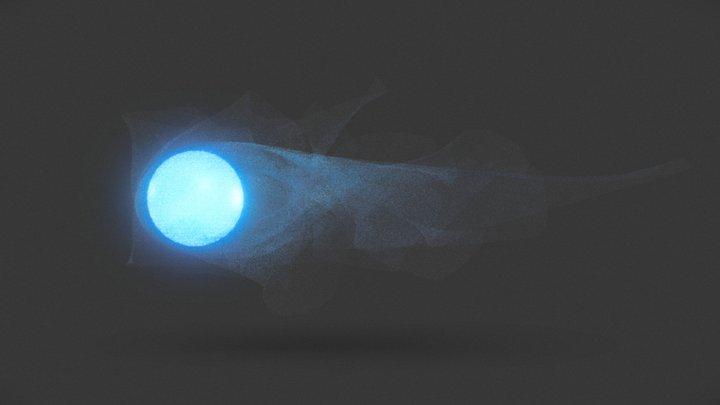 Smoke Effect Test 3D Model