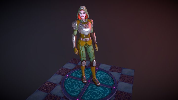 Hunter Crypto 3D Model