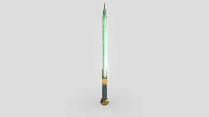 Espada Clash Of Clans 3D Model