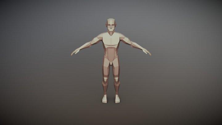 Angular Male (Test) 3D Model