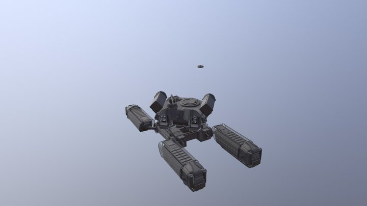 AA Mech 3D Model