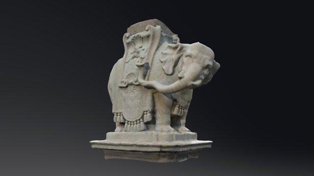 Bernini's Elephant 3D Model