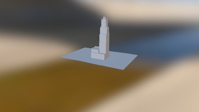 RADIATORBLDG 3D Model