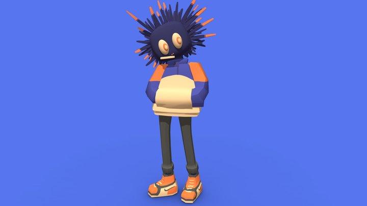 Sea urchin boy 3D Model