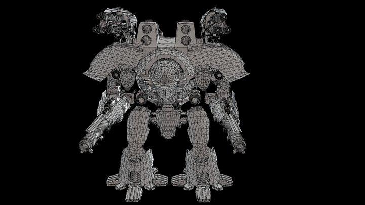 Warlord Titan 3D Model