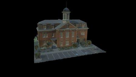 Philomath College building 3D Model